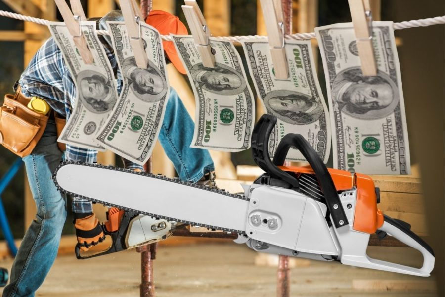 Best Cordless Chainsaw for the Money Cover Photo