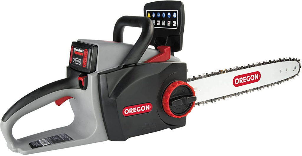 Best Cordless Chainsaw for the Money Oregon CS300 Chainsaw