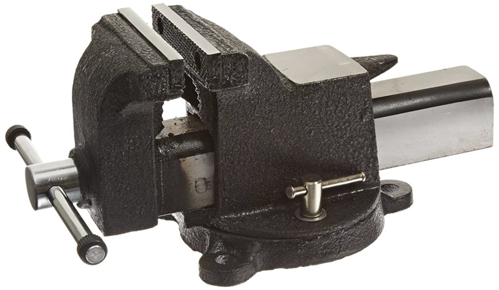 Best Bench Vise for the Money Yost Vises 908-AS 8″ Heavy Duty Steel Bench Vise