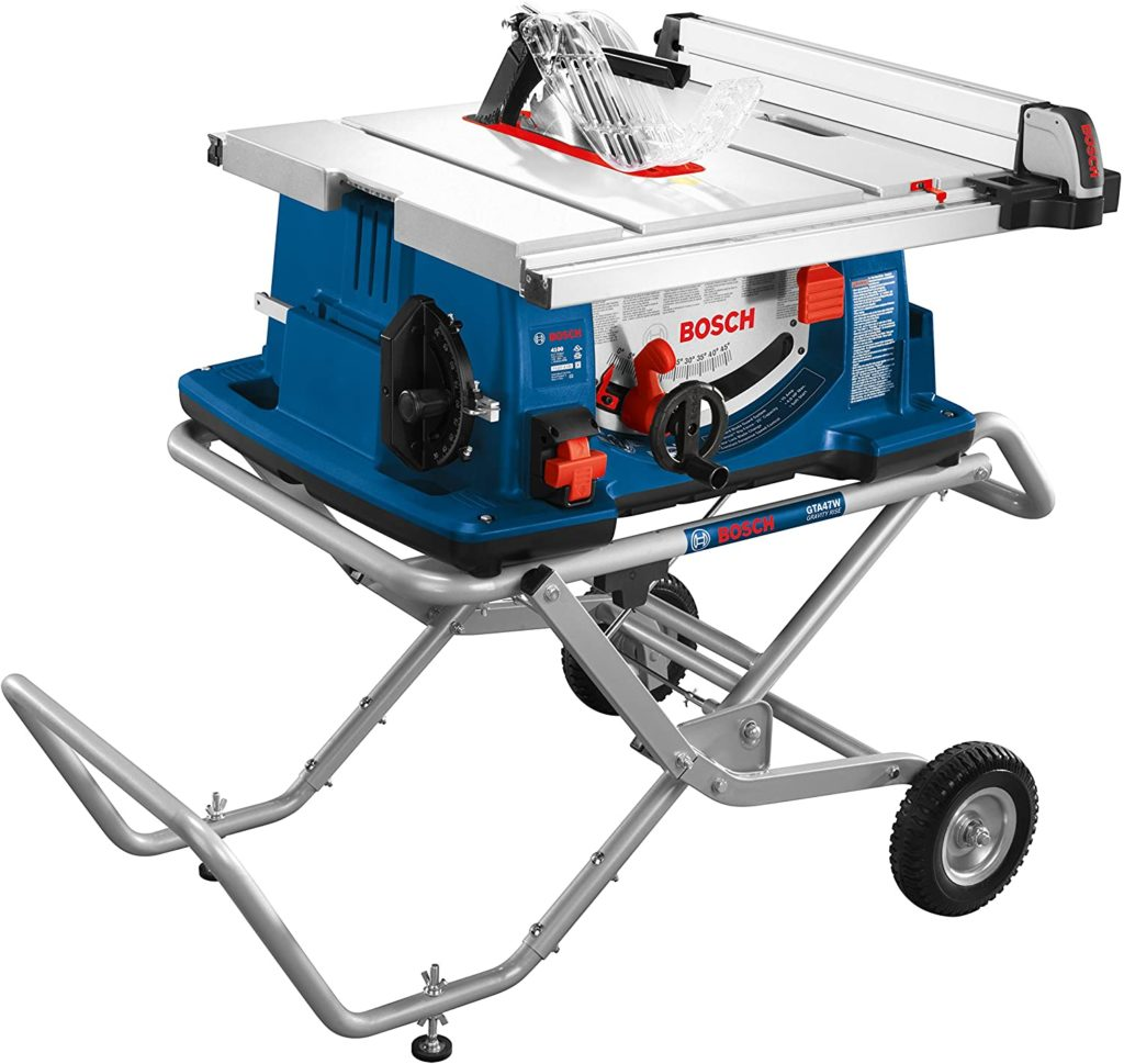 Best Budget Table Saw Bosch Power Tools 4100-10 Jobsite Tablesaw