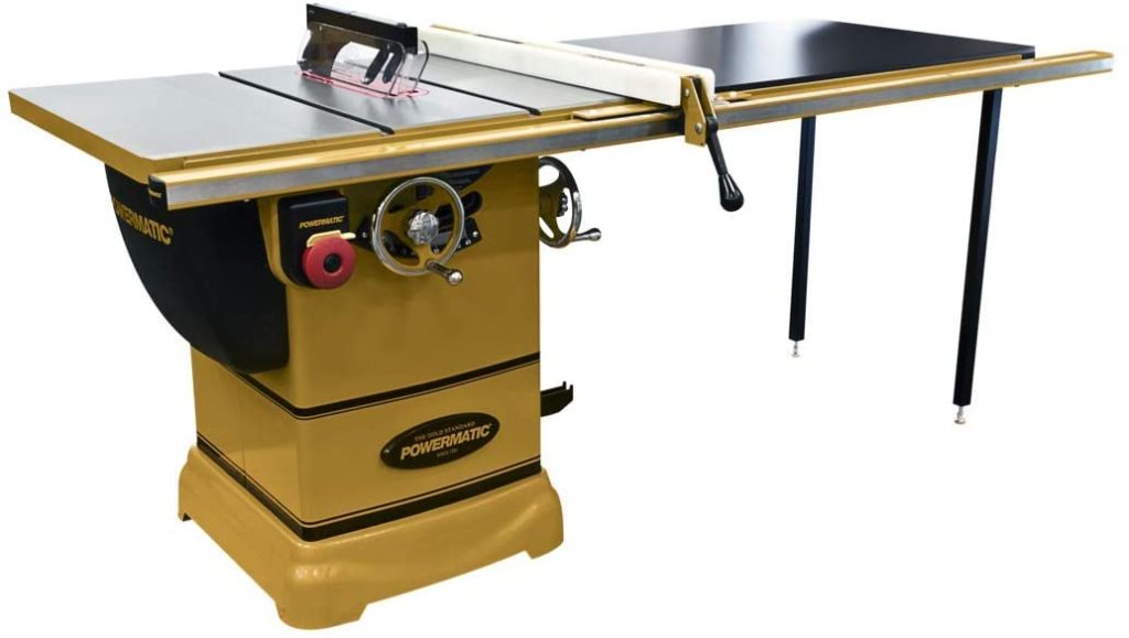 Best Budget Table Saw Powermatic PM1000 1791001K Table Saw 50-Inch Fence
