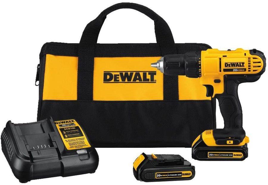 Best Cordless Drill Under Dewalt DCD771C2 Cordless Drill