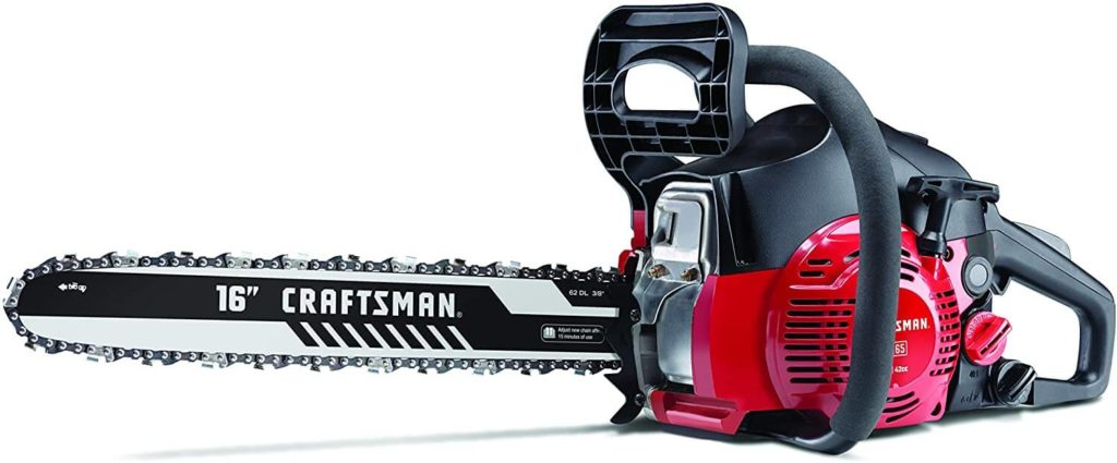 Best Gas Chainsaw for the Money Craftsman S165 16 Inch