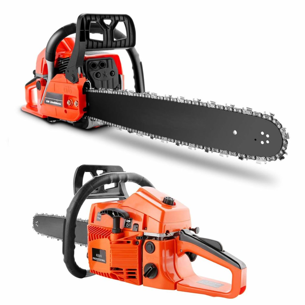 Best Gas Chainsaw for the Money HOMDOX 52CC 20 Inch