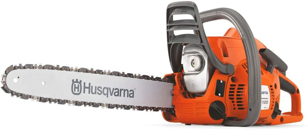 Best Gas Chainsaw for the Money Husqvarna 120 Mark II 16 Inch