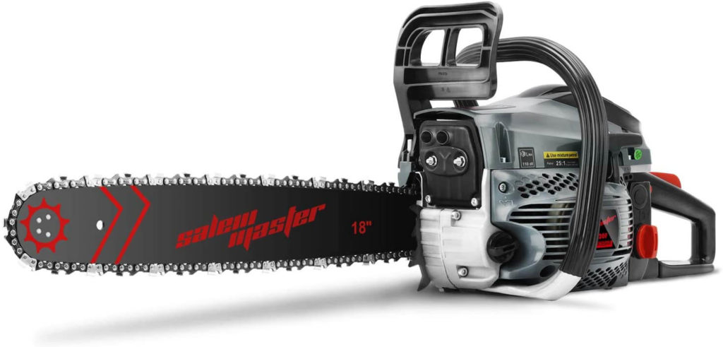 Best Gas Chainsaw for the Money SALEM MASTER 5820F 18 Inch