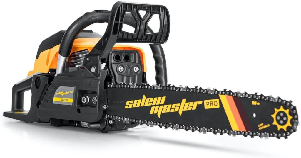 Best Gas Chainsaw for the Money SALEM MASTER 5820G 16 Inch