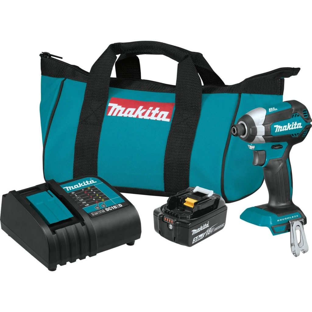 Best Impact Driver for the Money Makita XDT131 18V LXT Brushless Cordless Impact Driver (2)
