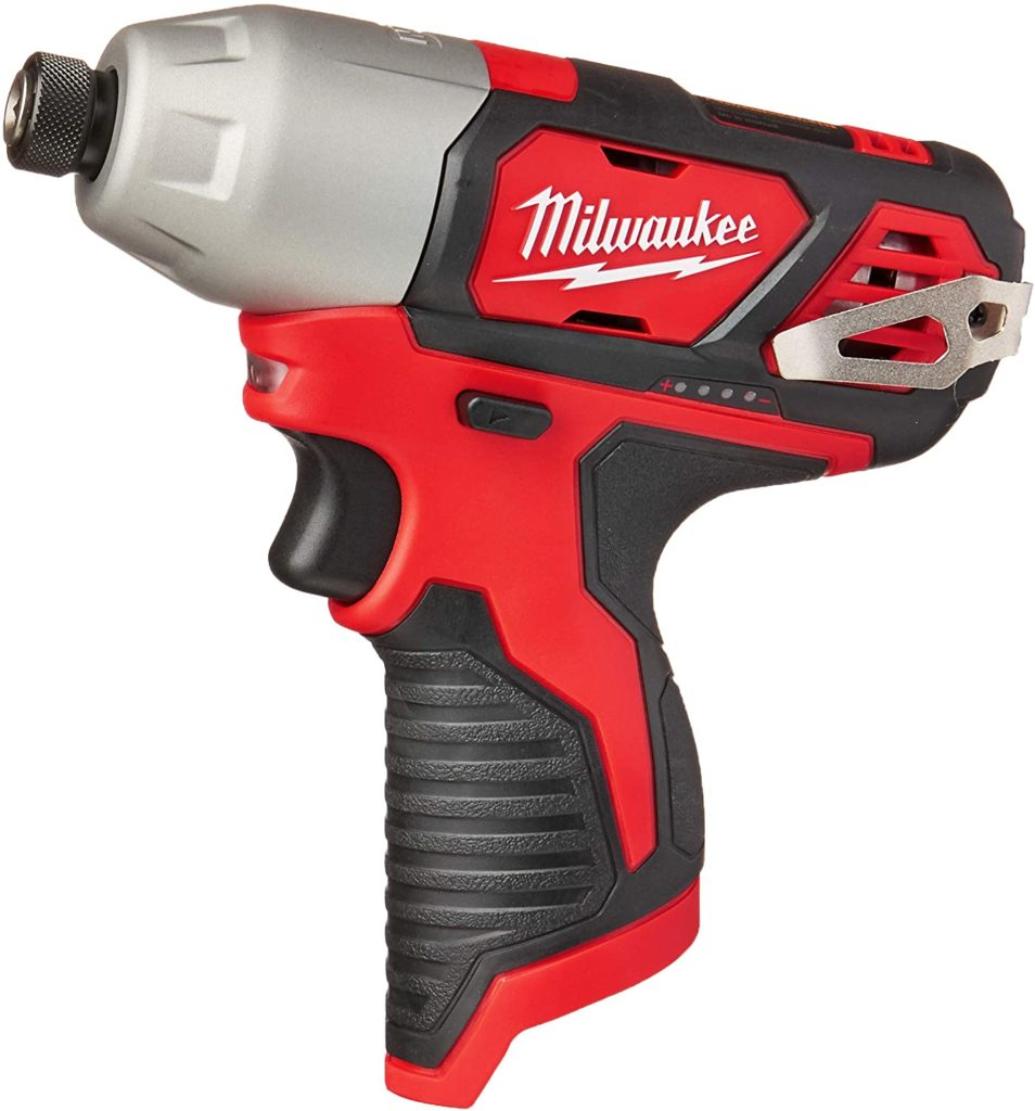 Best Impact Driver for the Money Milwaukee 2462-20 M12 14 Inch Hex Shank Impact Driver