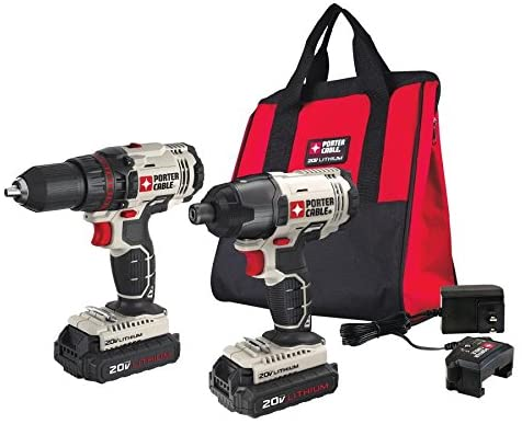 Best Impact Driver for the Money PORTER-CABLE PCCK604L2 20V MAX Cordless Impact Driver (2)
