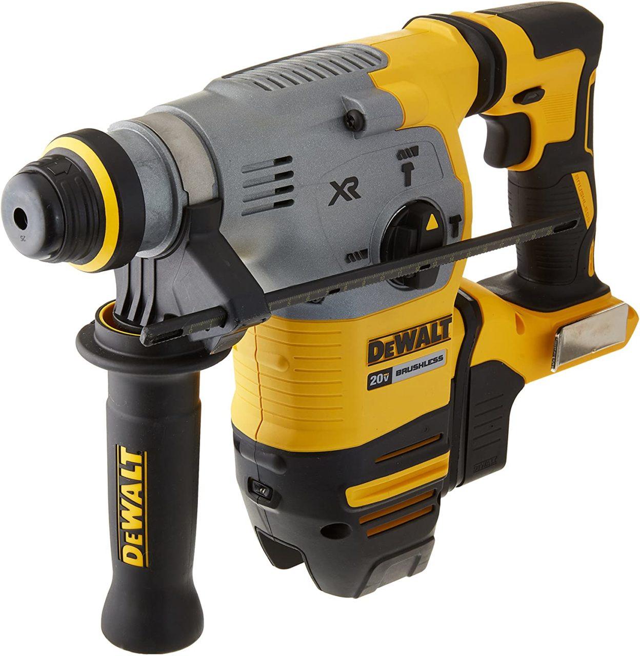 Best Rotary Hammer Drill for Concrete DeWALT DCH293B 20V MAX Rotary Hammer Drill
