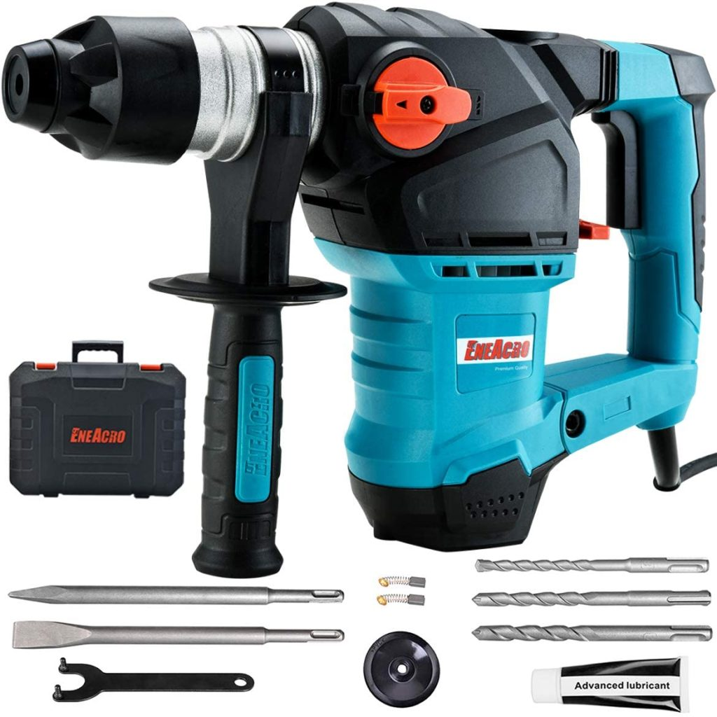 Best Rotary Hammer Drill for Concrete ENEACRO SDS-Plus Rotary Hammer Drill