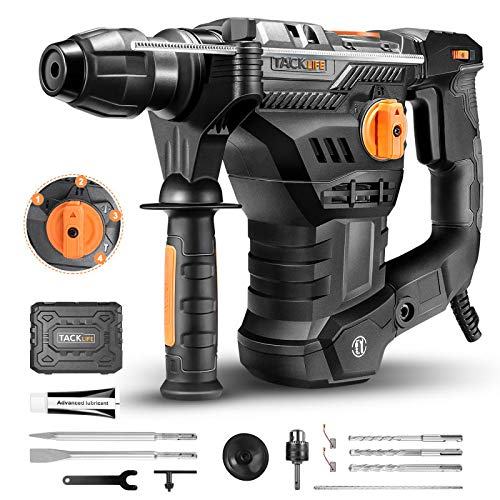 Best Rotary Hammer Drill for Concrete Tacklife TRH01A Rotary Hammer Drill