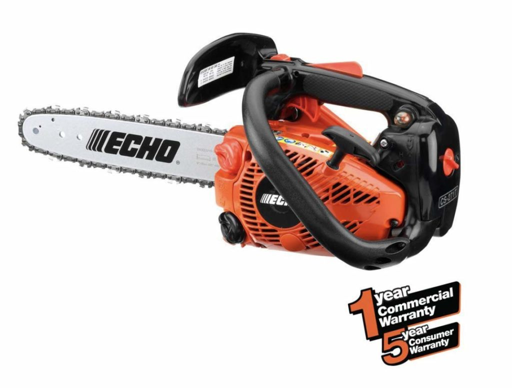 Best Small Gas Powered Chainsaw Echo CS-271T 12-Inch
