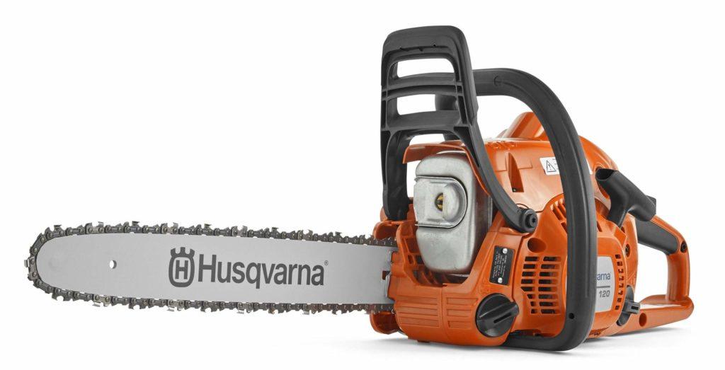 Best Small Gas Powered Chainsaw Husqvarna 120 II 14-Inch