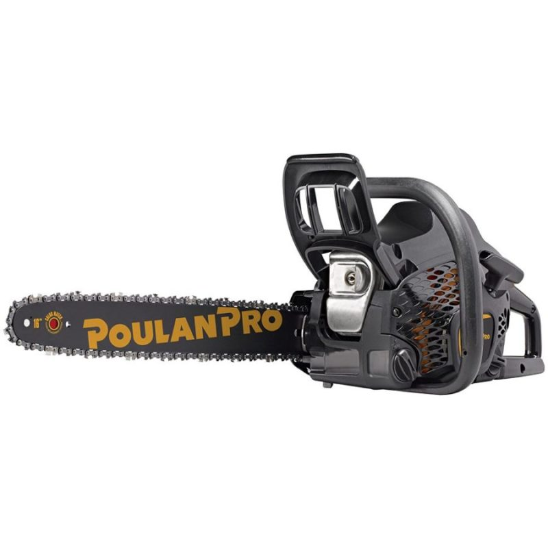 Best Small Gas Powered Chainsaw Poulan Pro PR4016 16-Inch