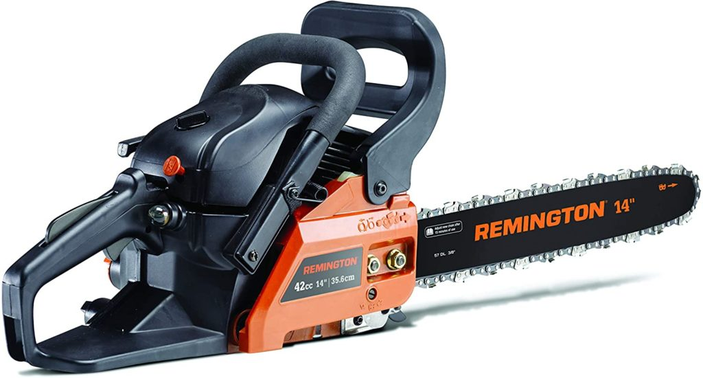 Best Small Gas Powered Chainsaw Remington RM4214CS 14-Inch