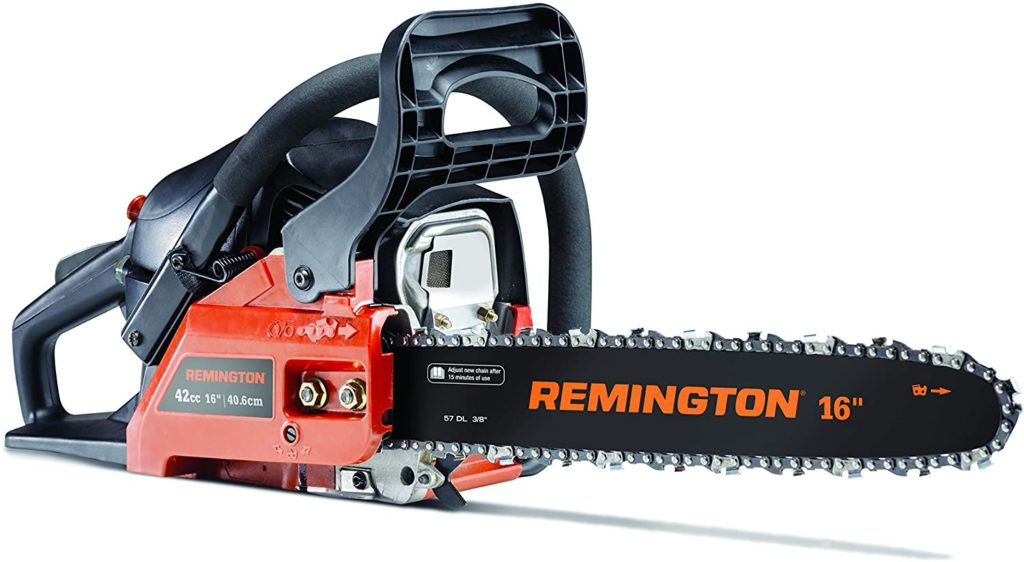 Best Small Gas Powered Chainsaw Remington RM4216CS 16-Inch