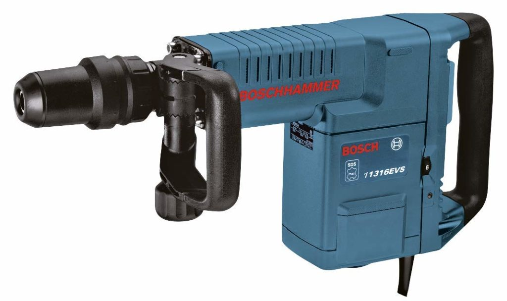 Best Demolition Hammer for Tile Removal Bosch 11316EVS SDS-Max Demolition Hammer