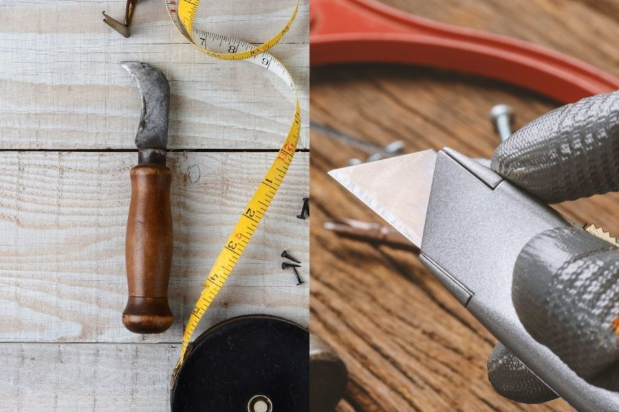 Carpet Knife vs Utility Knife Cover Photo