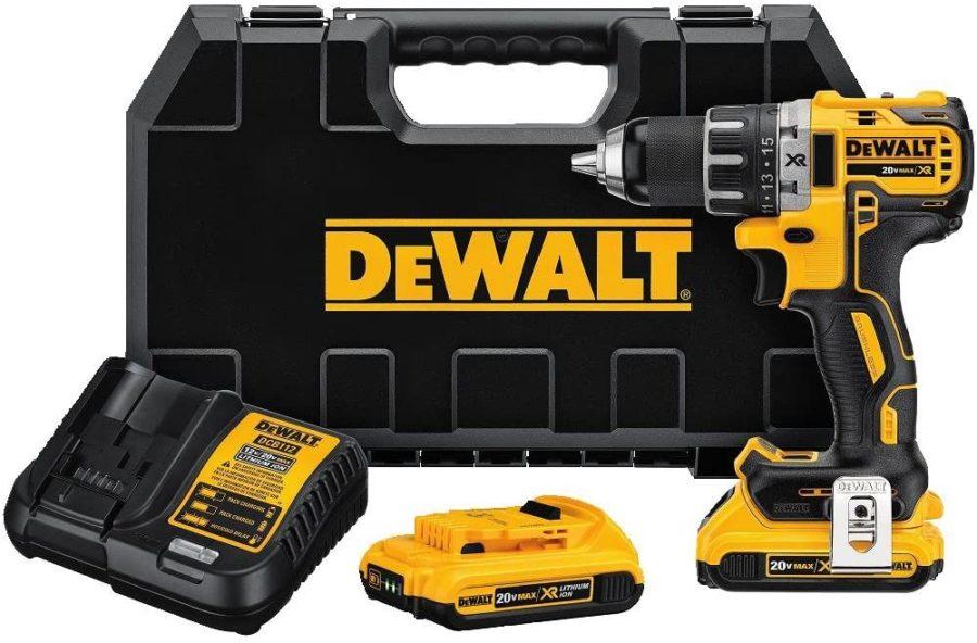 Hammer Drill vs Regular Drill DEWALT DCD791D2 20V MAX Cordless Drill