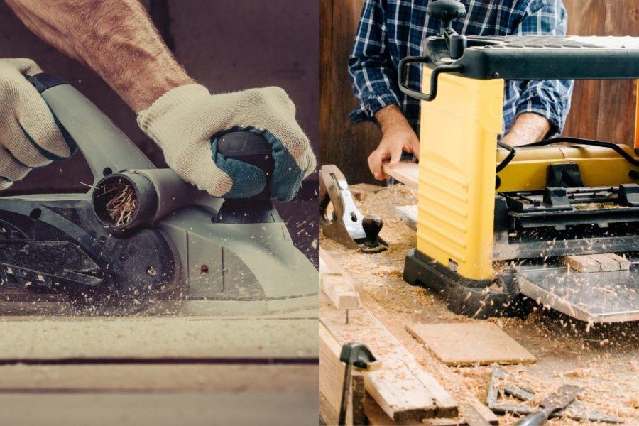 Hand Planer vs Bench Planer Cover Photo