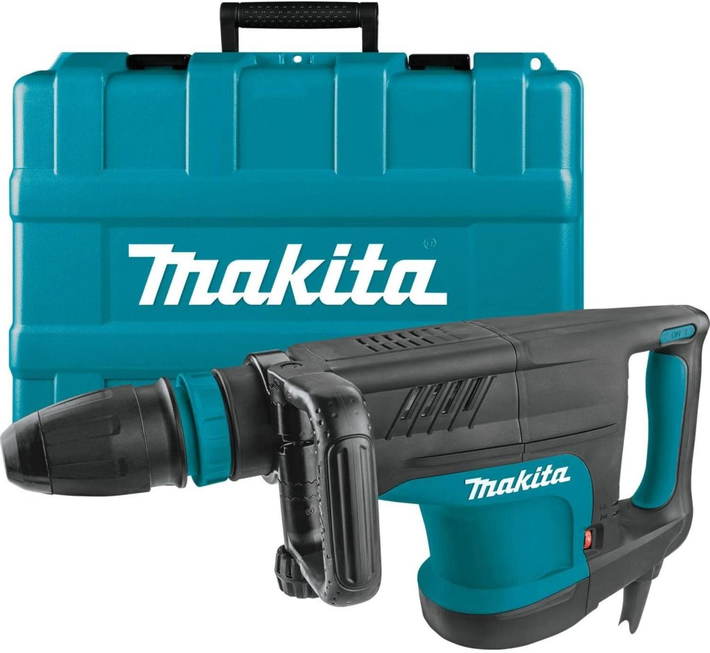 Best Demolition Hammer for Tile Removal Makita HM1203C SDS Max Demolition Hammer