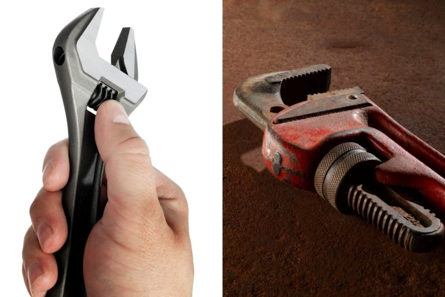 Monkey Wrench vs Pipe Wrench Cover Photo