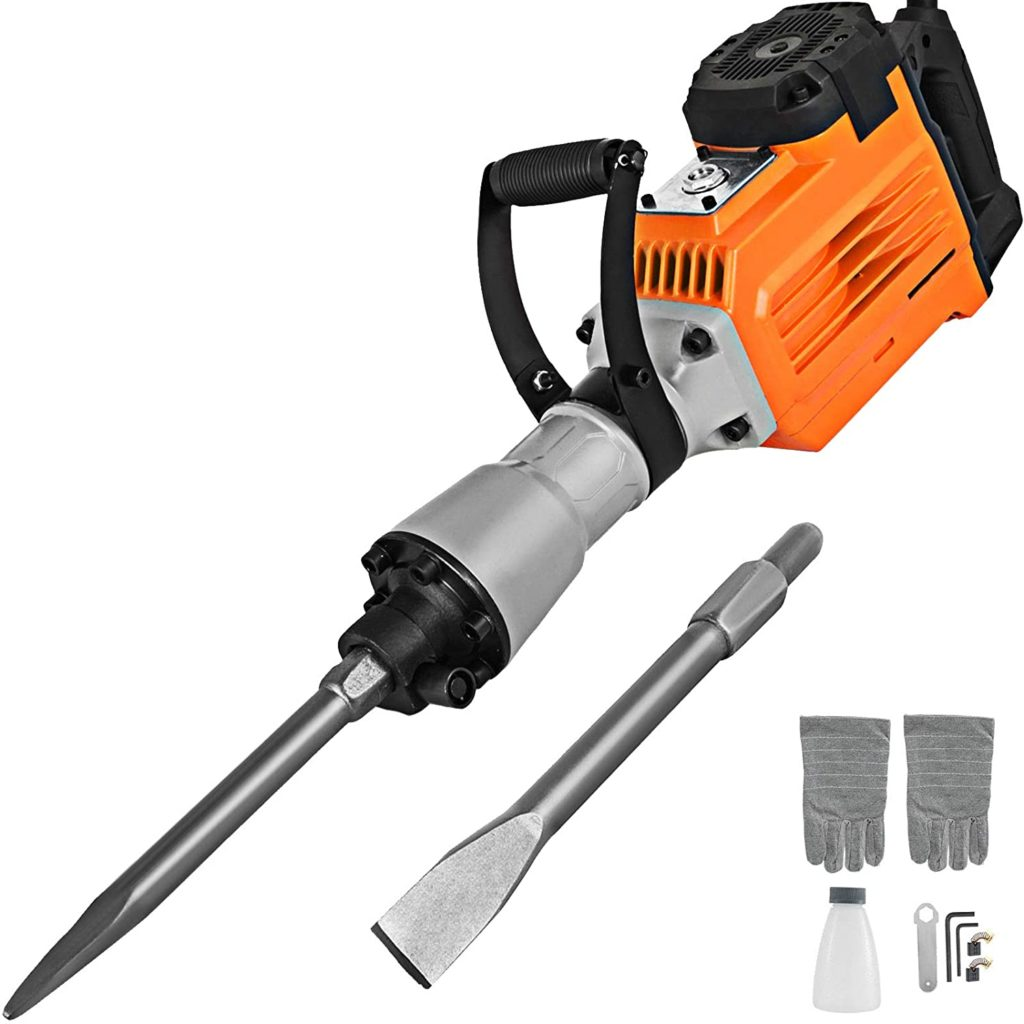 Best Demolition Hammer for Tile Removal Mophorn 3600W Electric Demolition Hammer