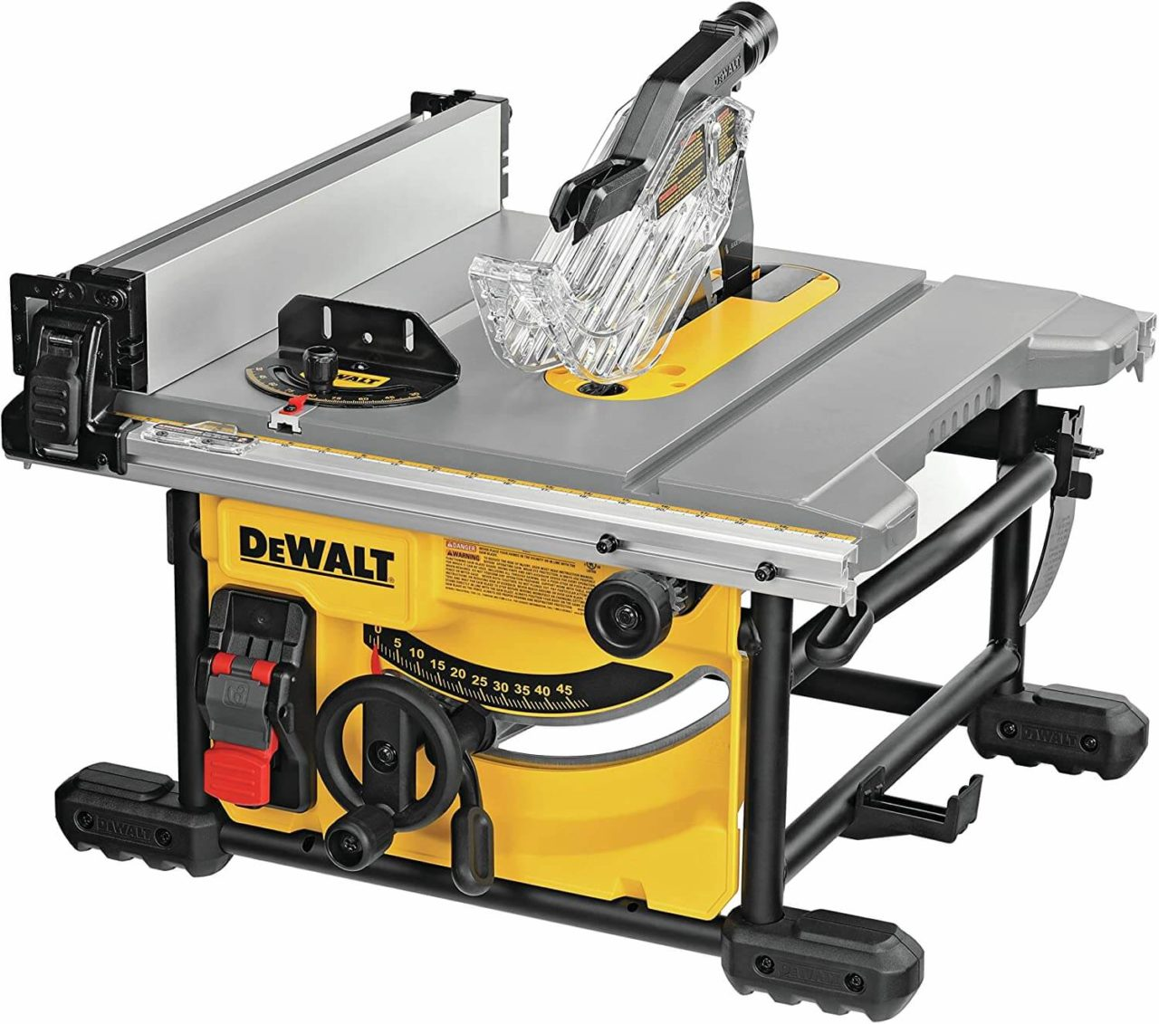 DeWALT DWE7485 - best table saw for beginners