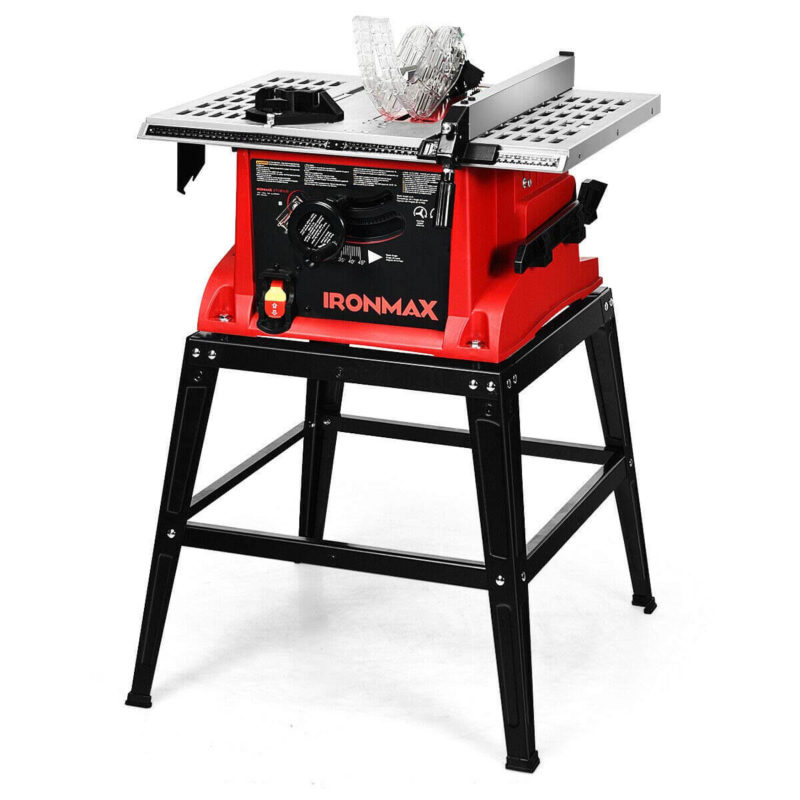Goplus Table Saw - best budget table saw for beginners