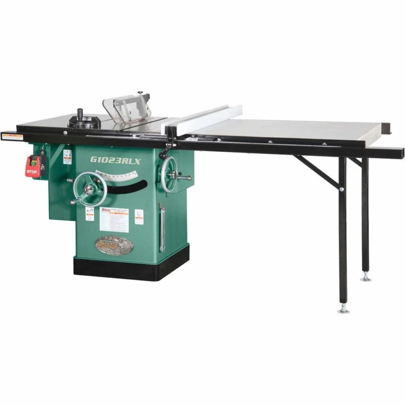 Grizzly Industrial G1023RLX - best budget cabinet table saw