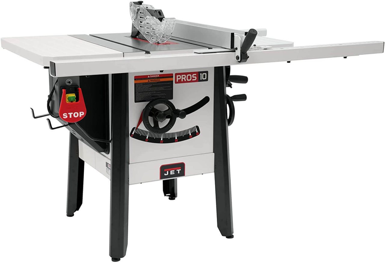 JET JPS-10 - Best Hybrid Table Saw for Small Shops