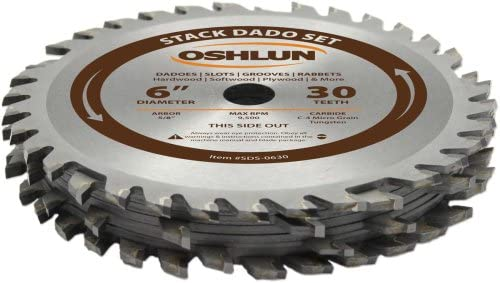 Oshlun SDS-0630 - Best Dado Blade for Table Saw