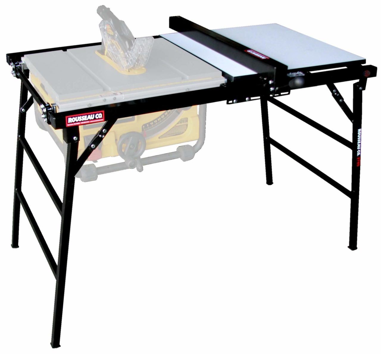Rousseau 2780 Table Saw Stand - Best For Portable Table Saws