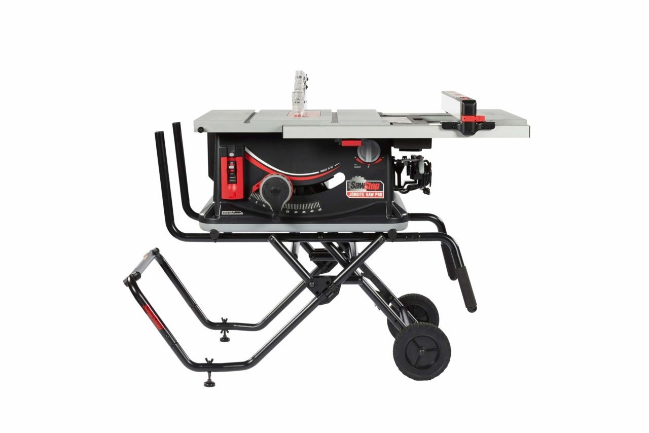 SAWSTOP 10-Inch JSS-120A60 best portable jobsite table saw