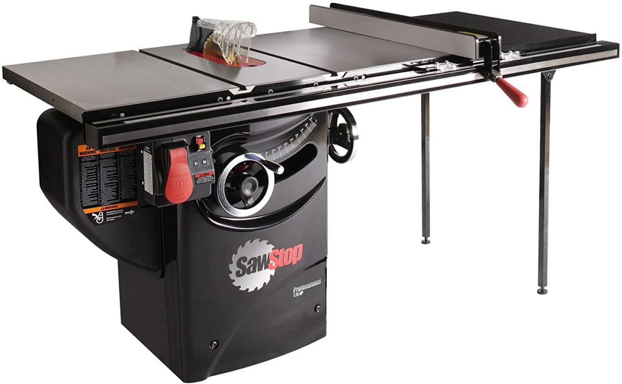 SAWSTOP PCS175-TGP236 - best value cabinet table saw