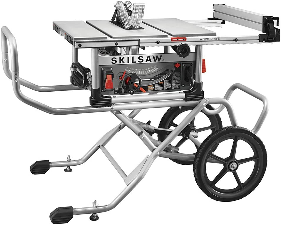 SKILSAW SPT99-11 10 Worm Drive - best portable table saw for woodworking