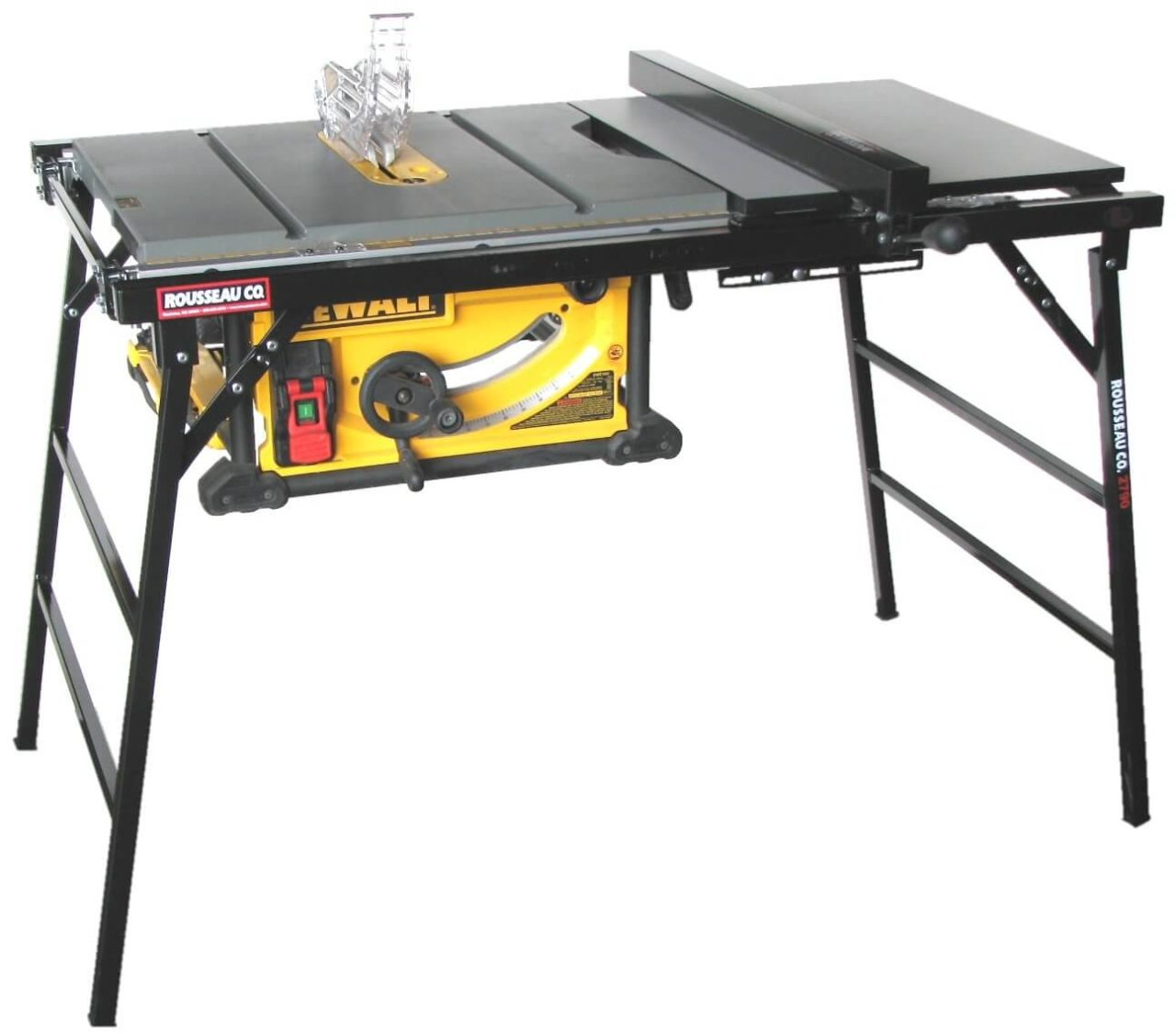 The Rousseau 2790 Table Saw Stand - Best for Heavy Duty Table Saws