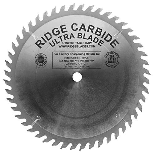 Ultra TS2000 - Best Combination Table Saw Blade