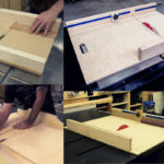 DIY Crosscut Sled for Table Saw Featured Image