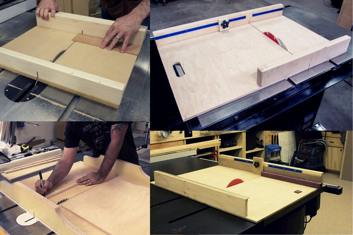 DIY Crosscut Sled for Table Saw Image