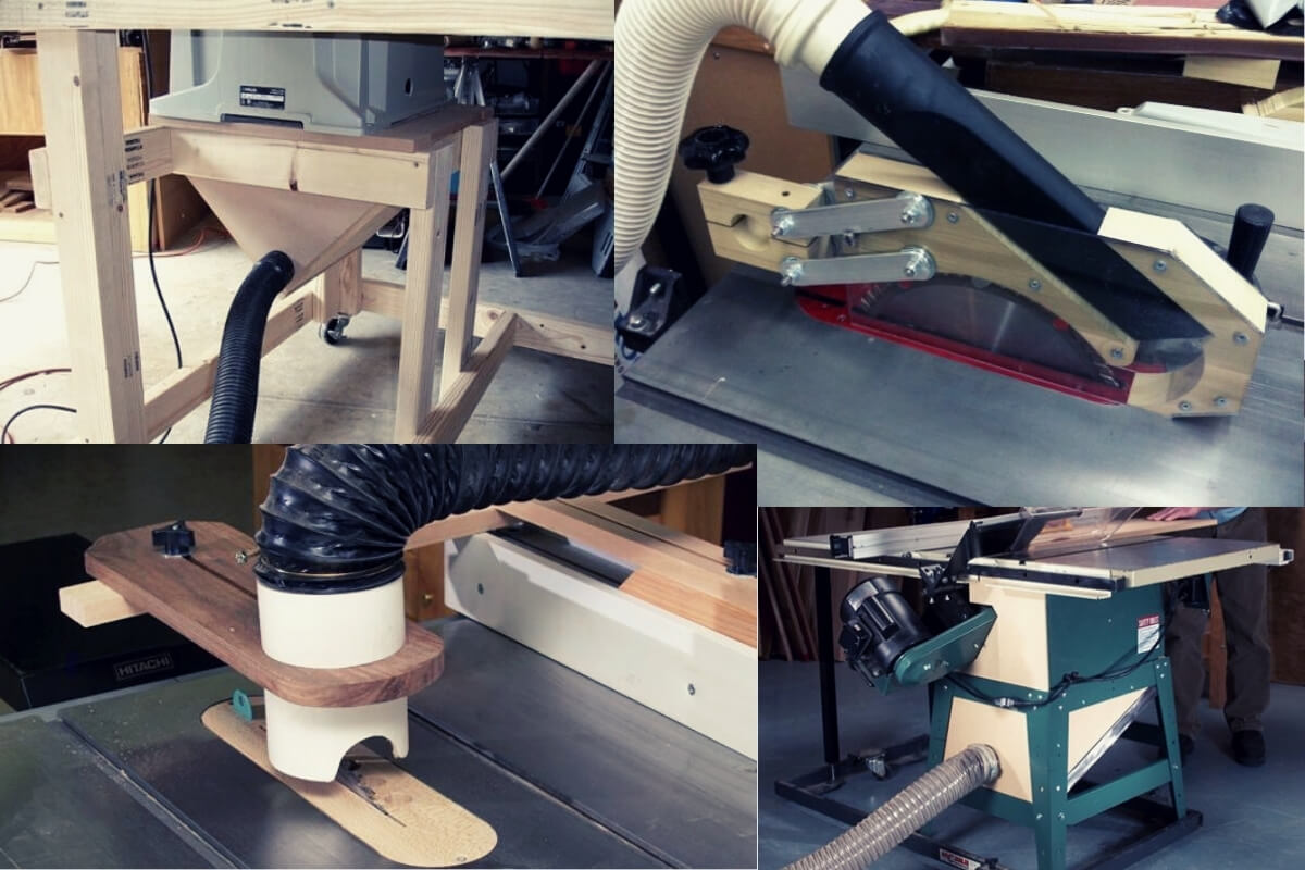 DIY Table Saw Dust Collection Image