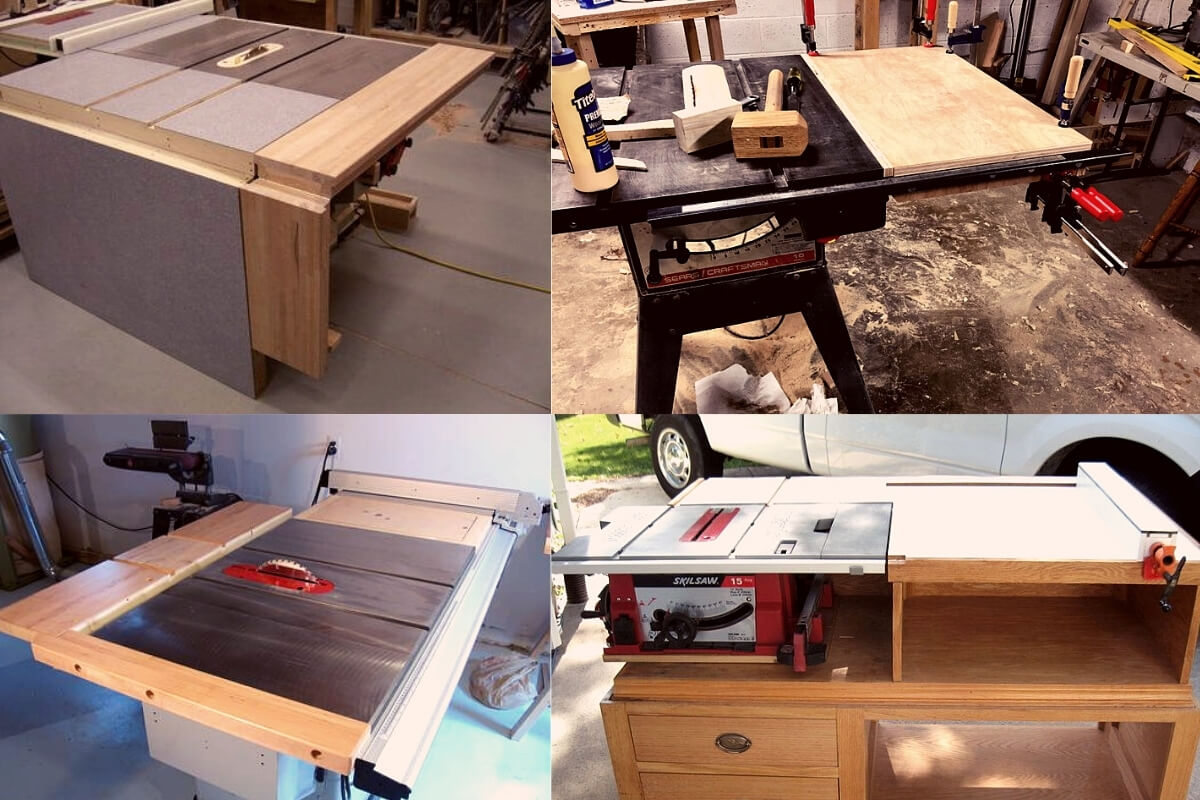 DIY Table Saw Extension Image