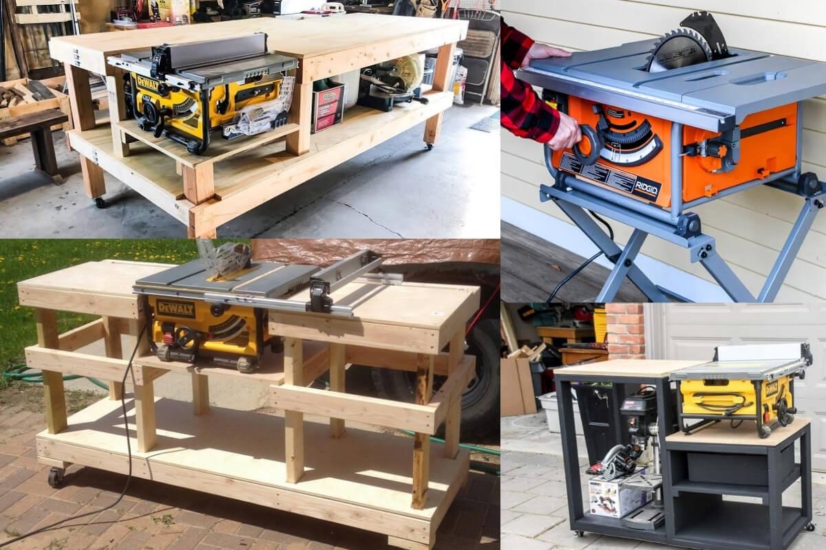 DIY Table Saw Stand Image