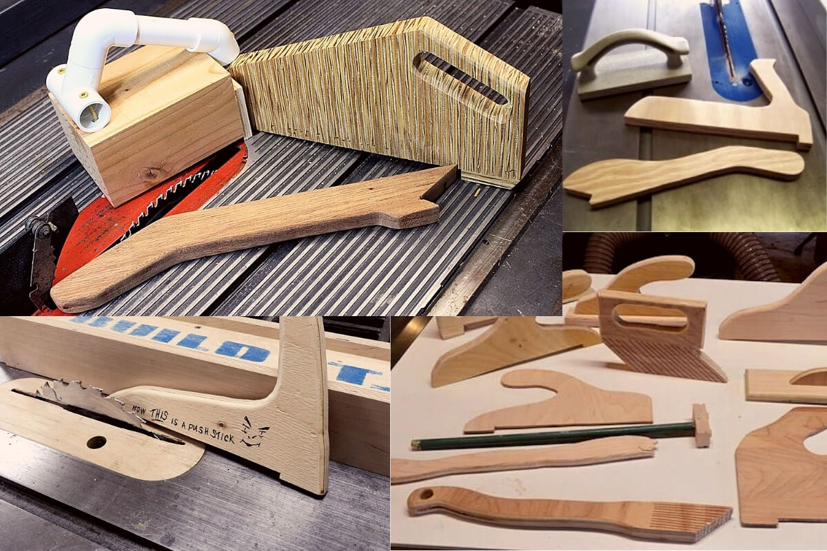 How to Make Push Sticks for Table Saw Image