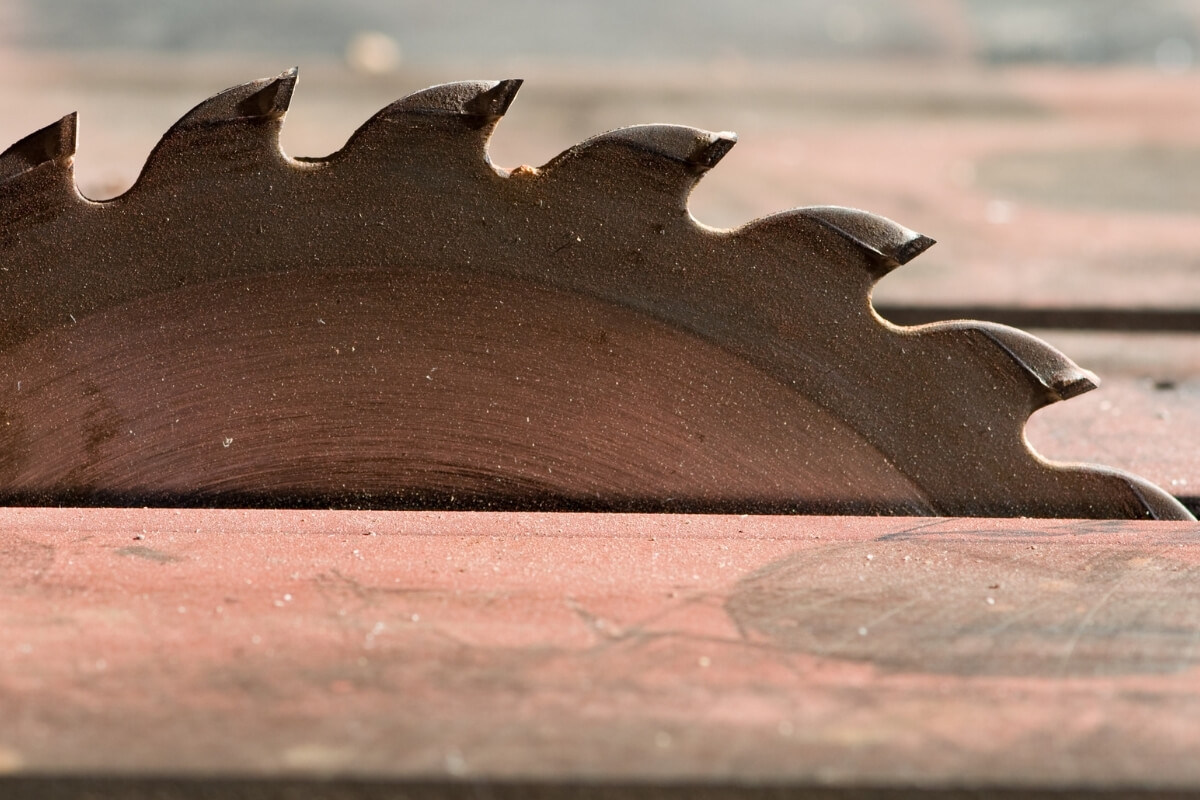 How to Sharpen Table Saw Blades Image