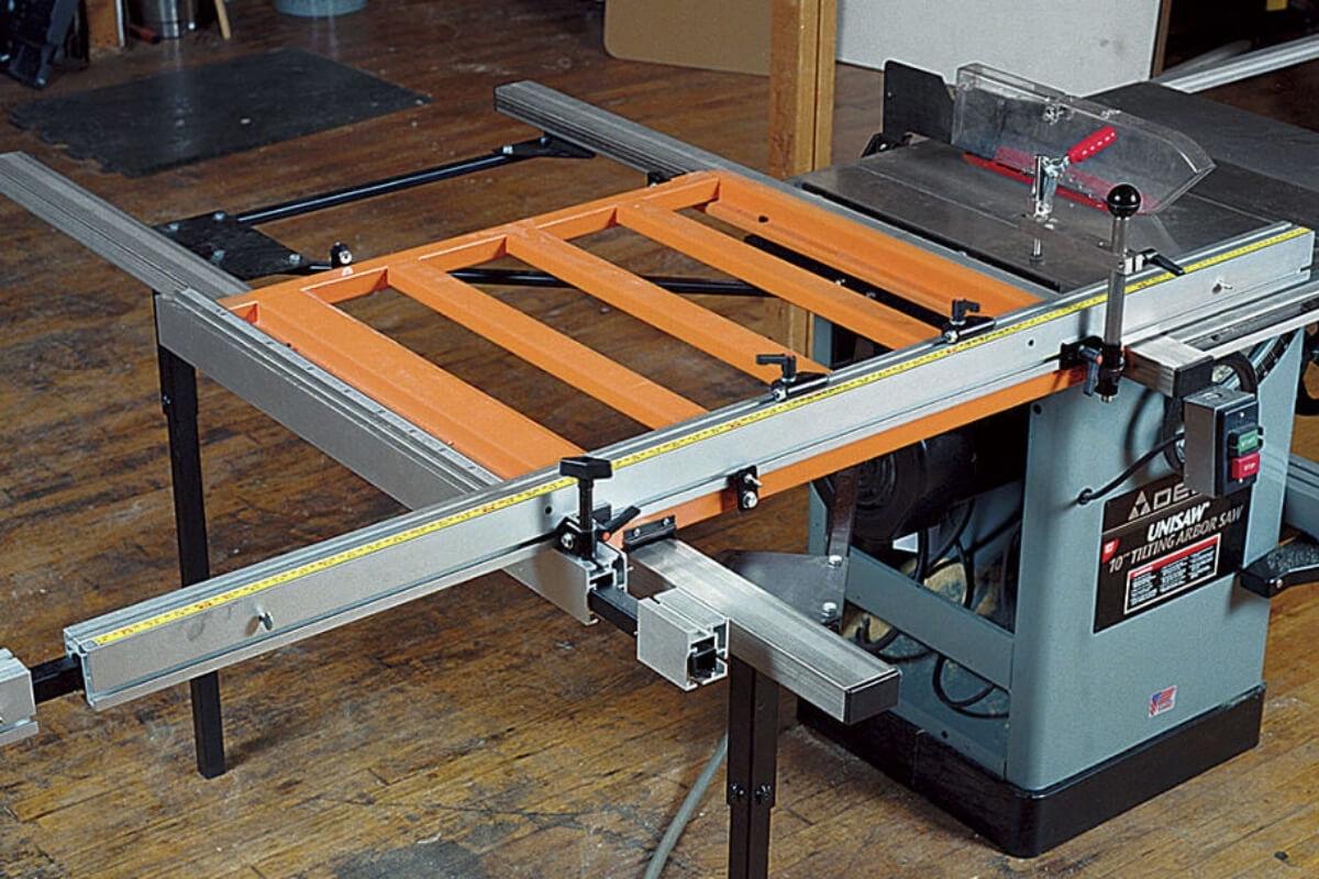 Sliding Table Saw Image