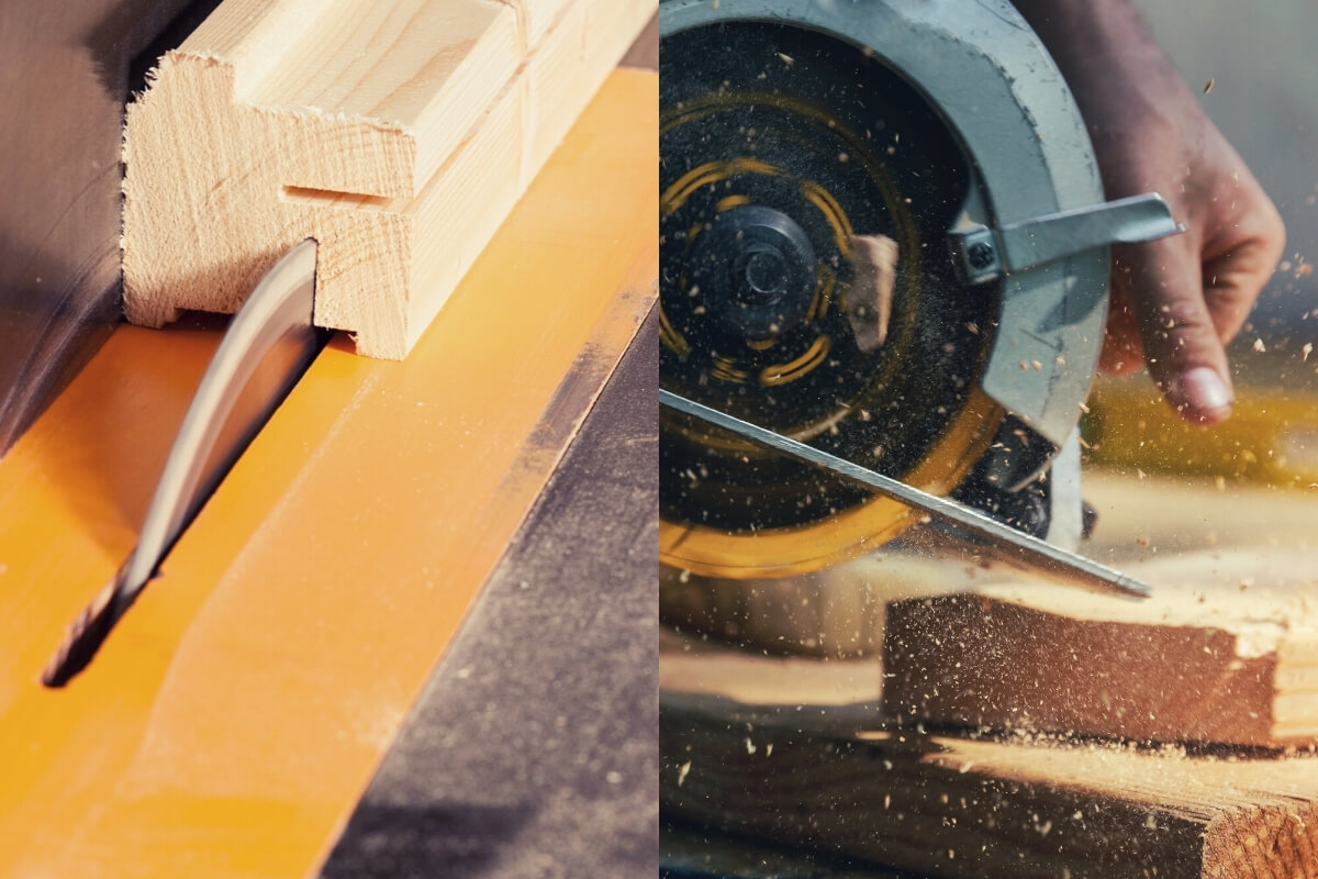 Table Saw VS Circular Saw for Ripping