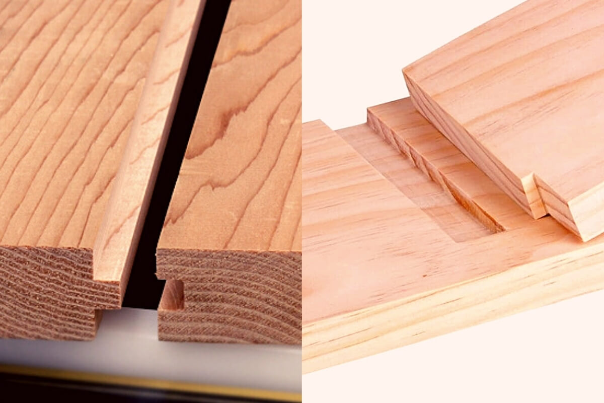 Tongue and Groove Joint vs Dado Joint